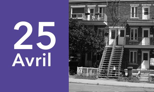 25 avril- multi-residentiel