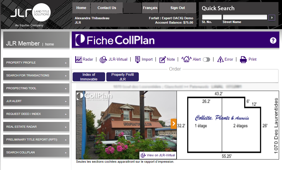 CollPlan-ICI-database