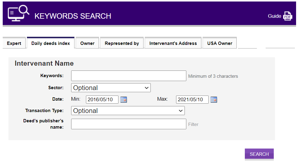 keyword-search-tool-for-financial-professionnals